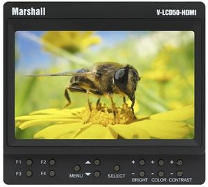 """Obrázek pro výrobce 5"""" Marshall odkuk monitor V-LCD50-HDMI"""